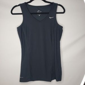Nike Black Dri-Fit Workout Exercise Tank Top